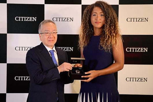 大坂なおみ 全米オープン 腕時計 シチズン 着用 モデル 発売日 最安値 エコ・ドライブ Bluetooth BZ4006-01E