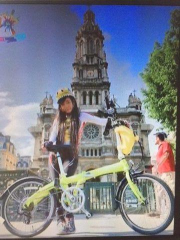柊木りお フランス 自転車